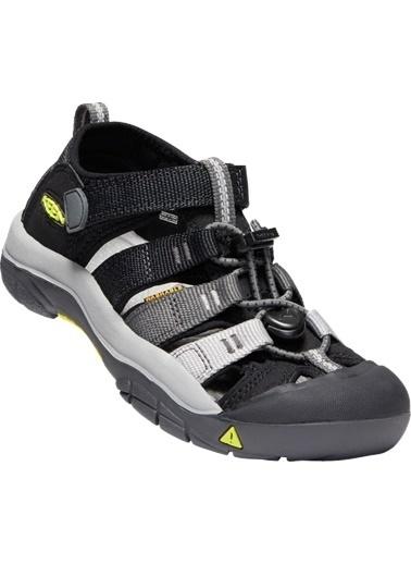 Keen Keen Newport H2 Genç Sandalet Siyah Siyah